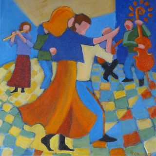 Dance and Music 12 x 12